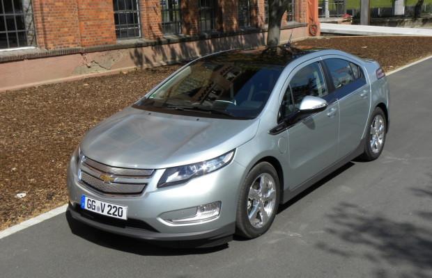 Chevrolet Volt mit bestem Absatz und Kurzarbeit