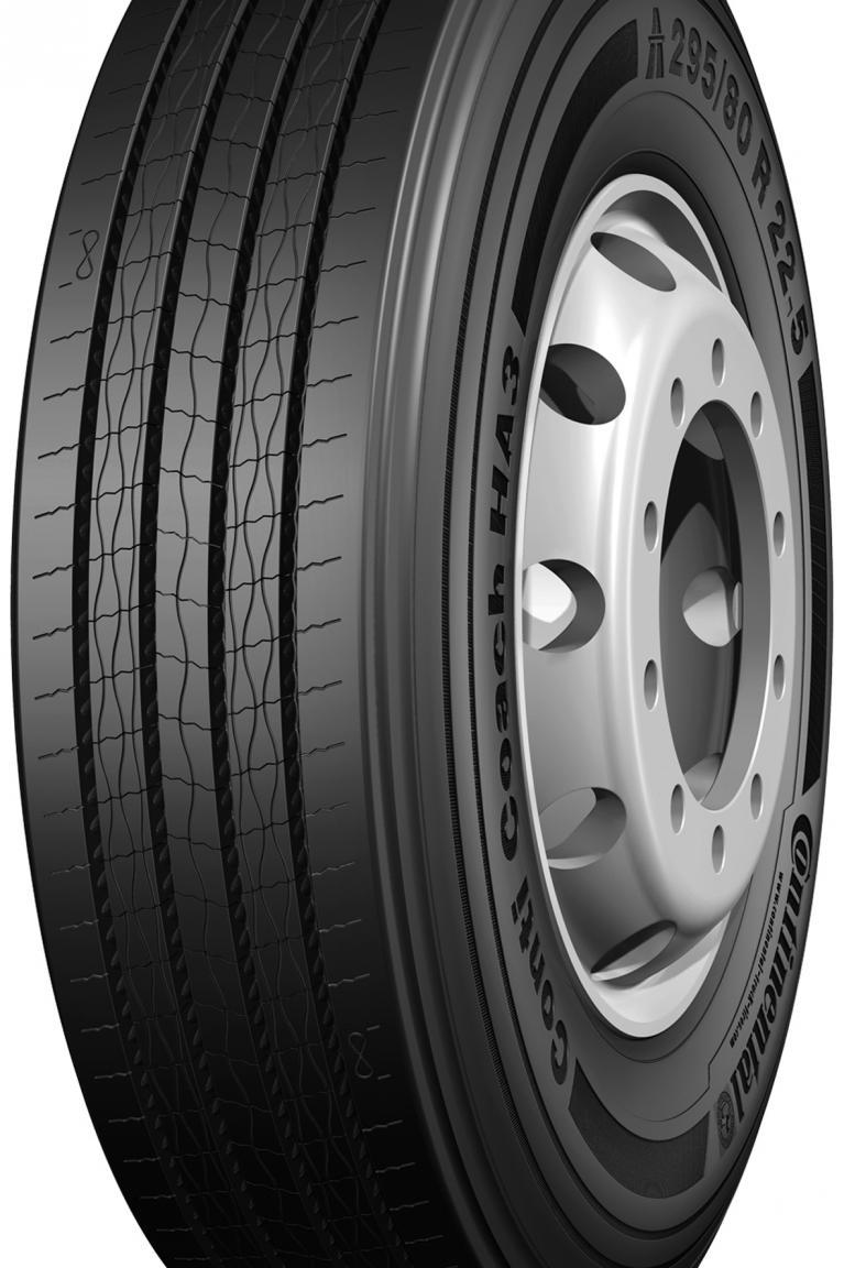 Continental bringt 2013 Spritspar-Reifen für Bus und Lkw