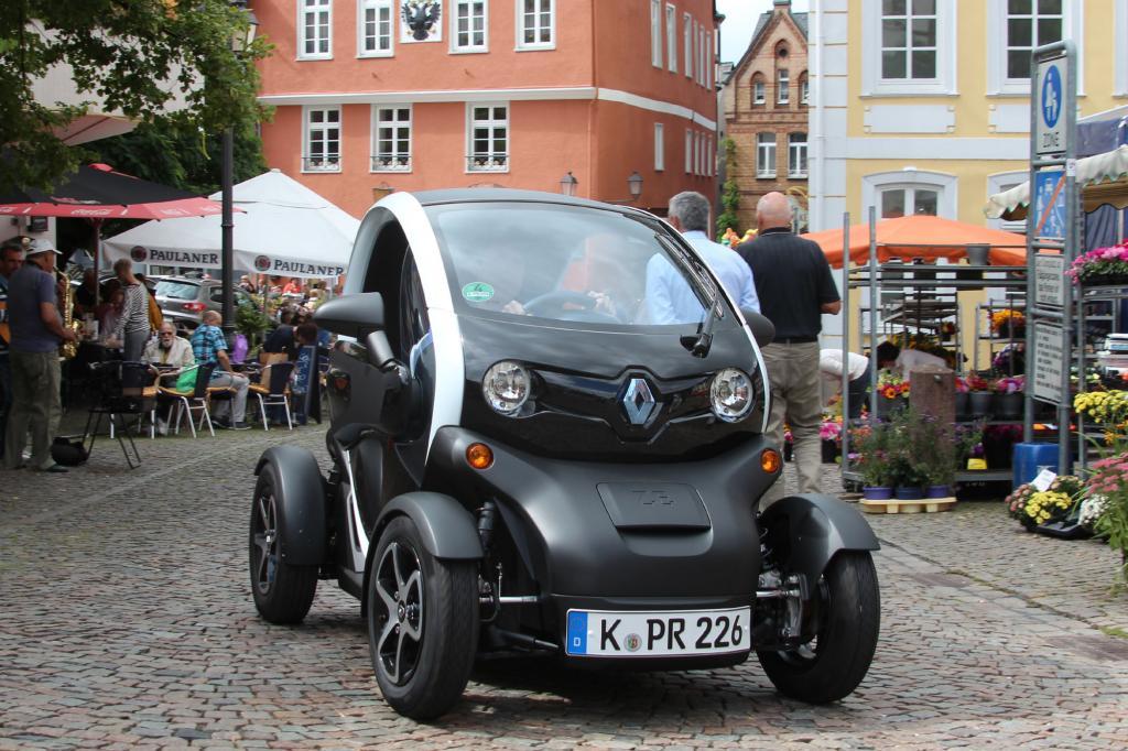 Der Renault Twizy ist das aktuell erfolgreichste Elektroauto der Republik