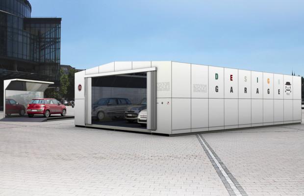 Designgarage von Fiat steht im Kölner Media-Park