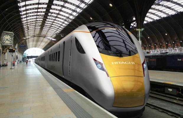 Deutsche Diesel in japanischen Schnellzügen für England