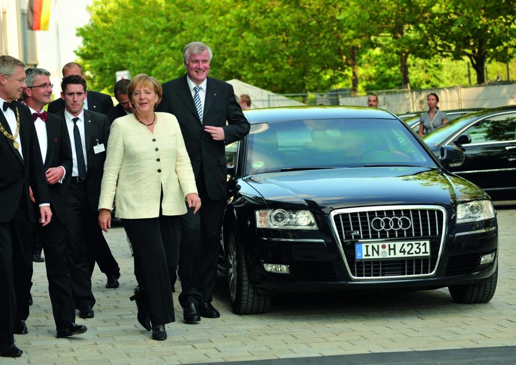 Die Karossen des Kabinetts - Was fahren Merkel, Rösler und Co.?