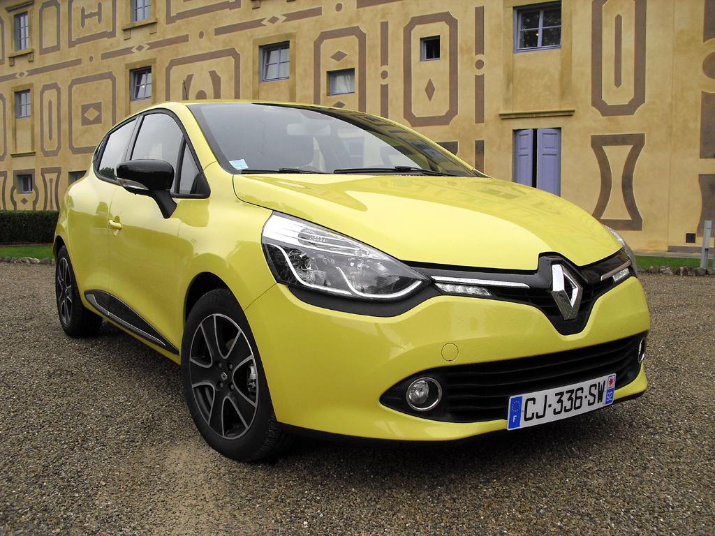 Dynamischer Look: Renault Clio mit Dynamique-Ausstattung.