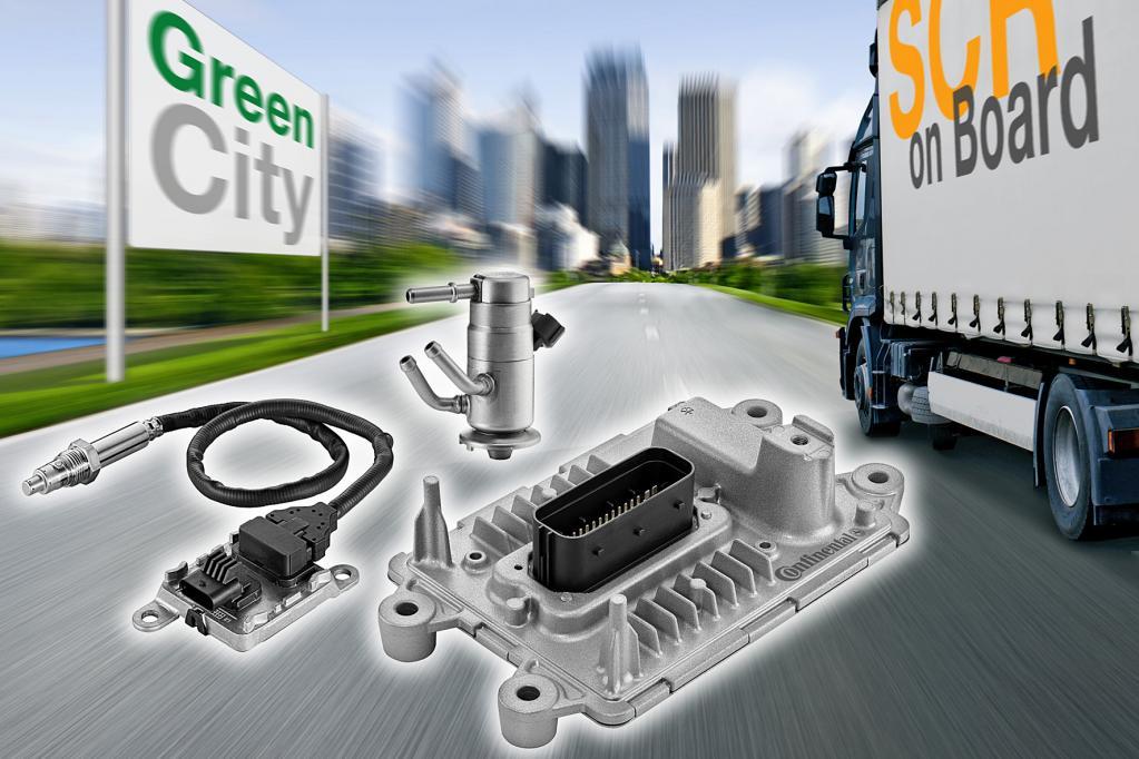 Effiziente Abgasbehandlung bei Nutzfahrzeugen