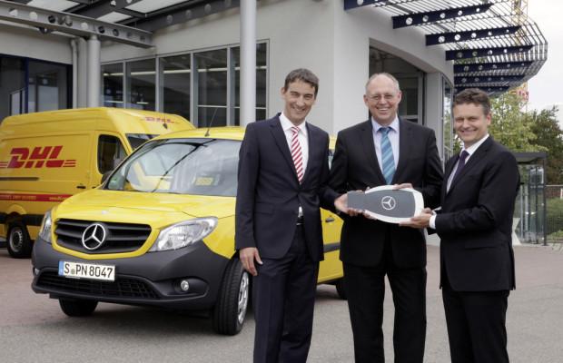 Erster Mercedes-Benz Citan geht an die Post