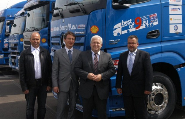 Euro-6-Lkw verbrauchen nicht mehr als Euro-5-Laster