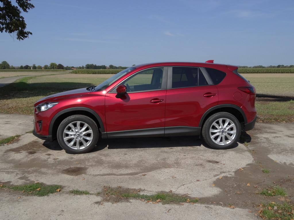 Fahrbericht Mazda CX-5: Unbeschwertes Benziner-Dieseln