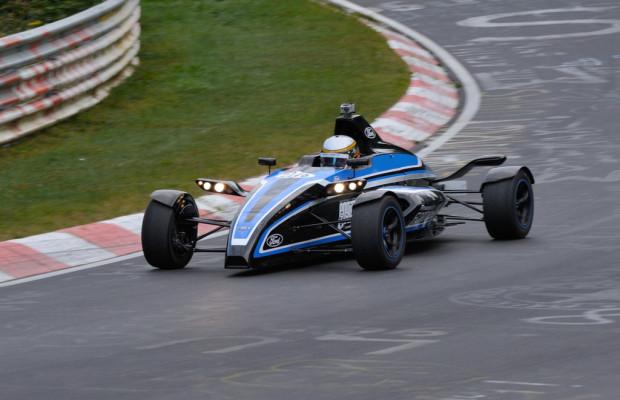 Formel Ford Rennfahrzeug mit 1,0-Liter Ecoboost-Motor auf dem Nürburgring
