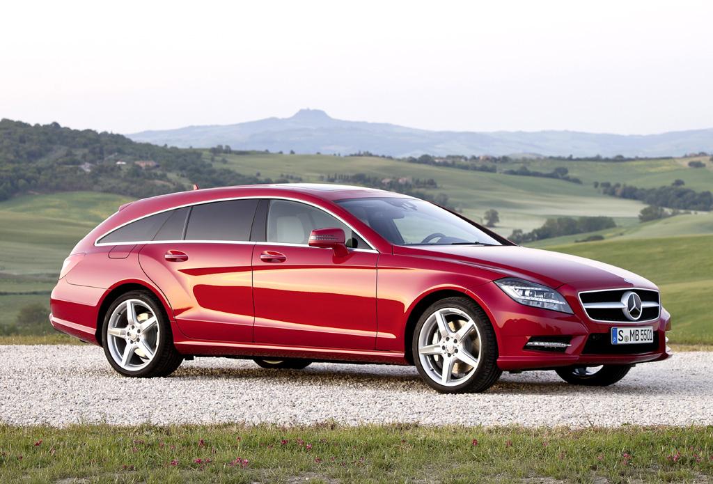 Formschöne: Mercedes CLS Shooting Brake: