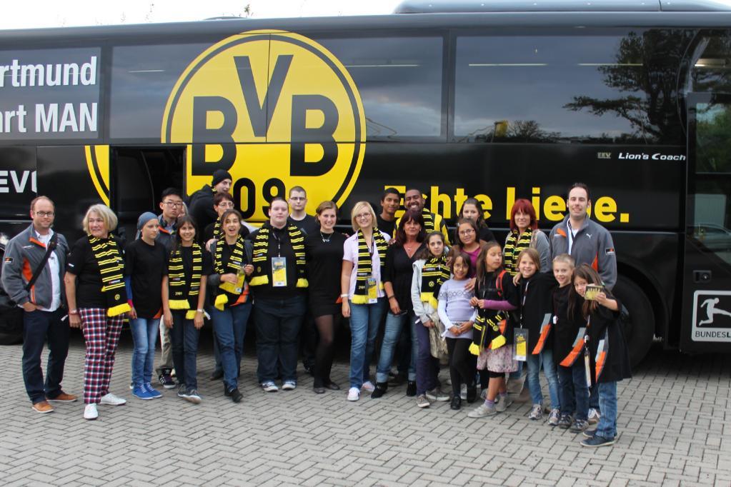 Hankook ermöglicht für schwerkranke Kinder BVB-Kicker-Treffen