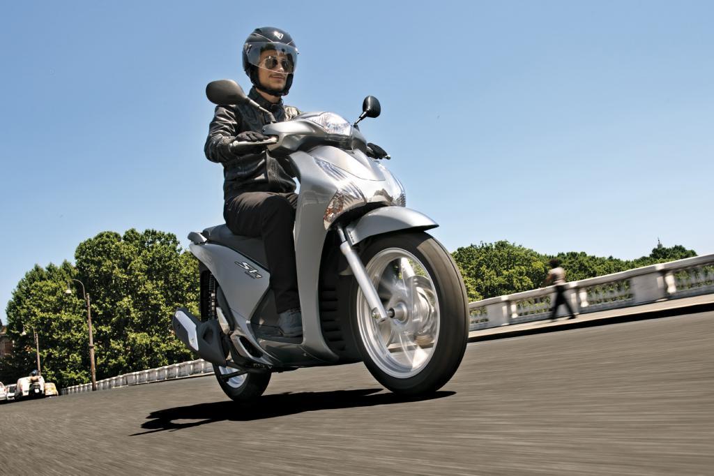 Honda SH 125i - Effizienz auf zwei Rädern