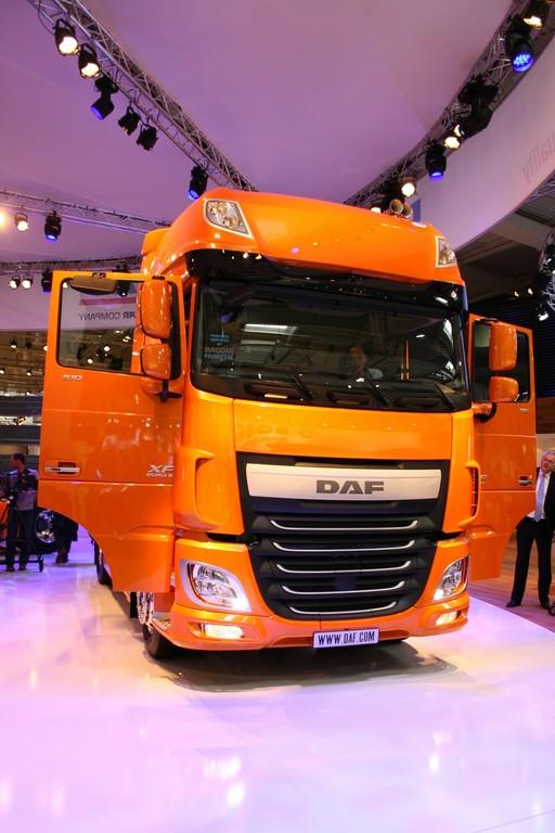 IAA 2012: DAF XF präsentiert sich außen wie innen neu