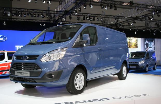 IAA 2012: Ford Transit Custom ist