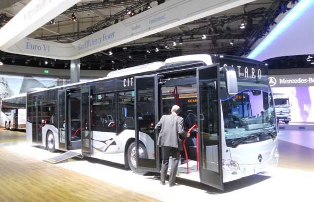IAA 2012: Mercedes-Benz Citaro jetzt mit Euro VI