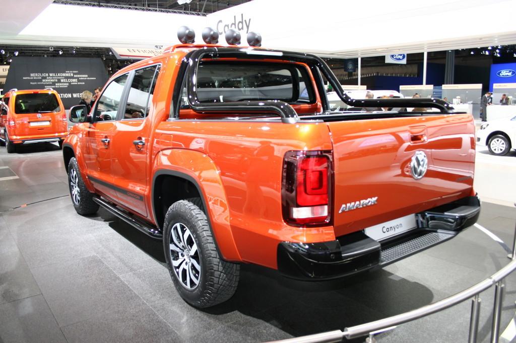 IAA 2012: Volkswagen Amarok Canyon für Lifestyle und Outdoor