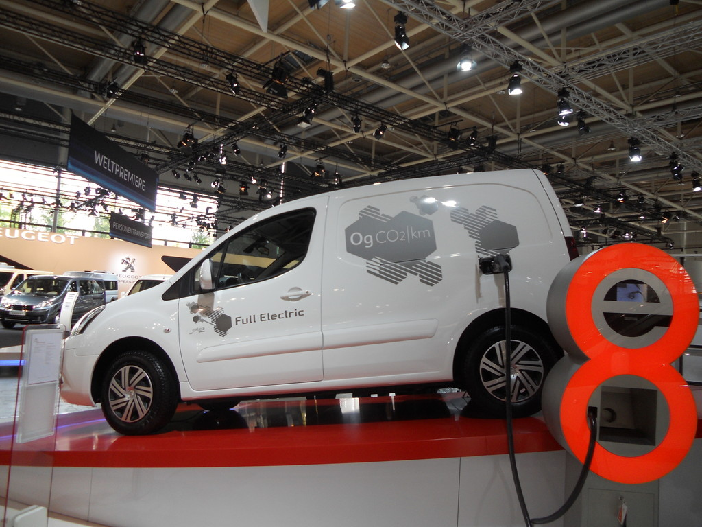 IAA 2012: Weltpremiere für Citroen Berlingo Electrique