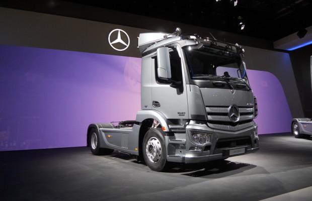IAA 2012: Weltpremiere für den Mercedes-Benz Antos