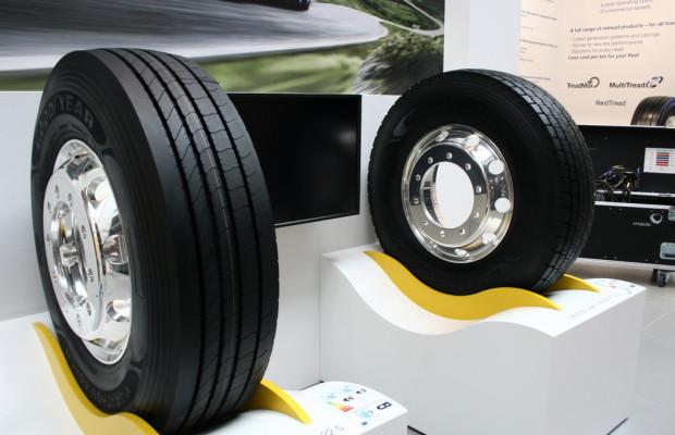 IAA Nutzfahrzeuge 2012: Goodyear-Reisebusreifen feiern Weltpremiere