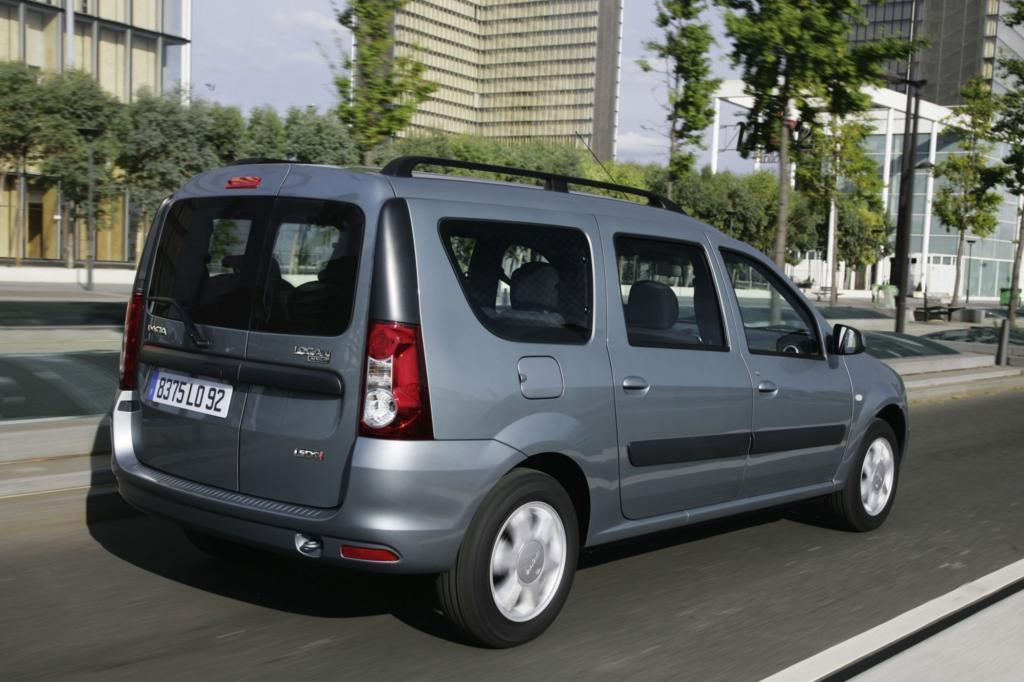 Im Dacia Logan MCV darf es etwas lauter zugehen als in einem Mercedes