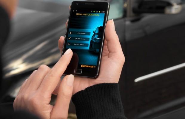 Ins Smartphone integrierter Autoschlüssel hat Zukunft