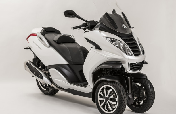Intermot 2012: Peugeot entdeckt das dritte Rad
