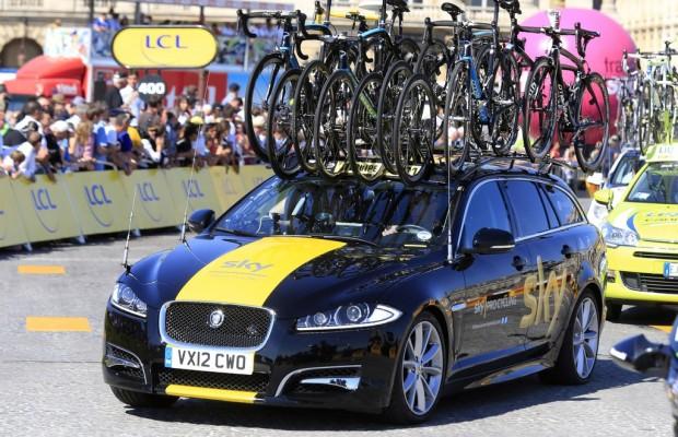 Jaguar XF Sportbrake begleitet Großbritannien-Rundfahrt