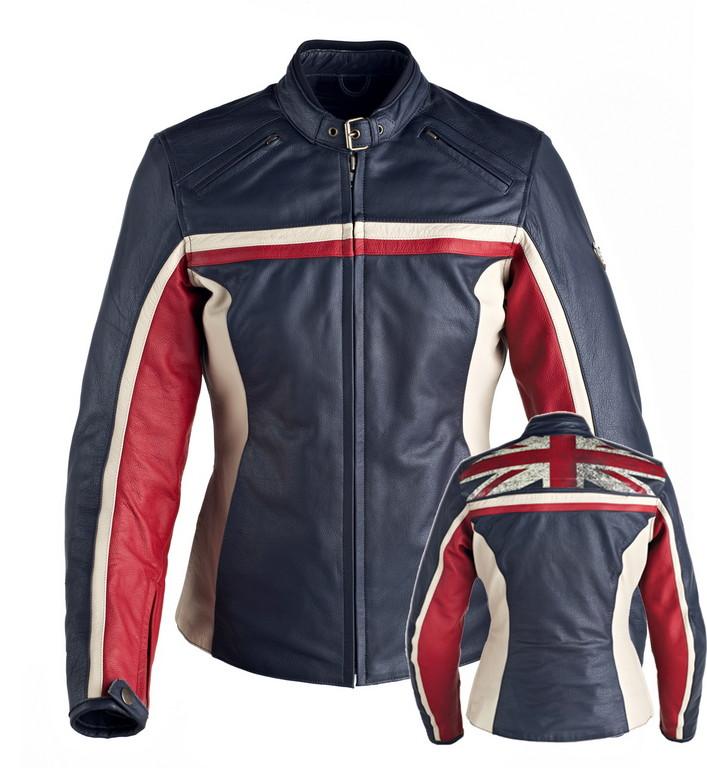 Klassische britische Jacke von Triumph