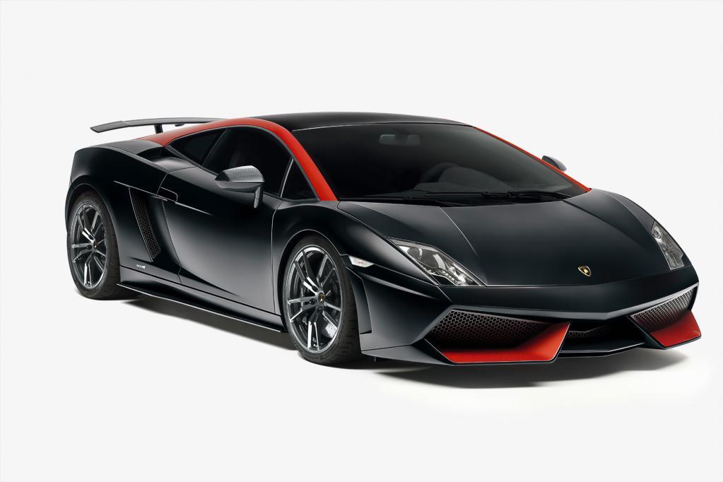 Lamborghini mit retuschiertem Gallardo LP 560-4