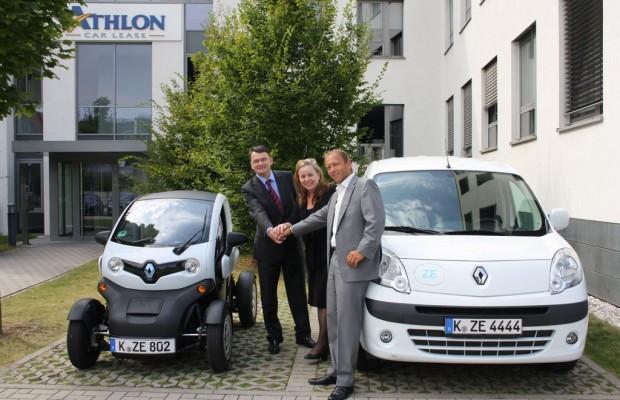 Leasing-Anbieter vertreibt Elektrofahrzeuge von Renault