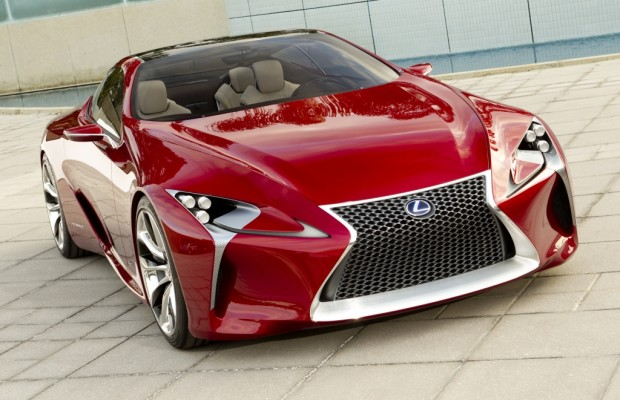 Lexus LF-LC: Blick in die (nahe) Zukunft