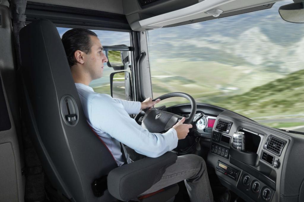 Lkw-Fahrer - Immer mehr mit Gurt