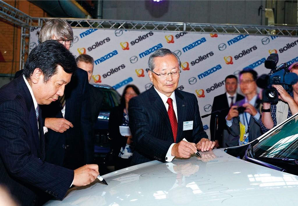 Mazda startet mit Sollers Produktion in Russland