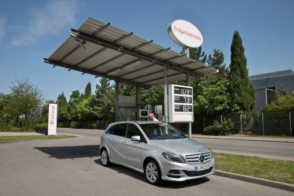 Mercedes B-Klasse mit Erdgas