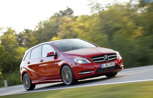Mercedes-Benz B-Klasse und M-Klasse feiern erste Verkaufsjubiläen