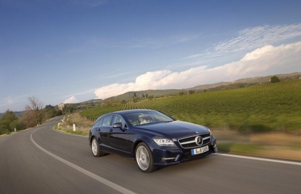 Mercedes-Benz CLS Shooting Brake: Stil-Ikone mit Rucksack