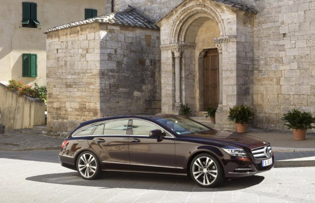 Mercedes CLS Shooting Brake - Stauraum mit Stil