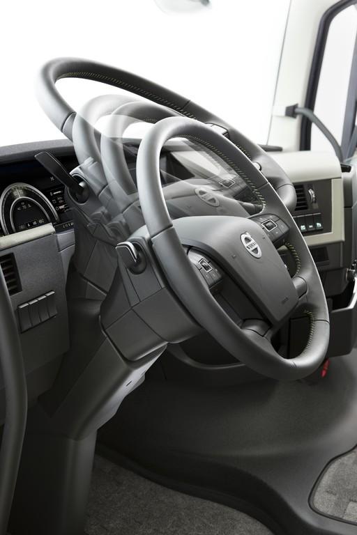 Neuer Volvo FH16 noch stärker auf den Fahrer zugeschnitten