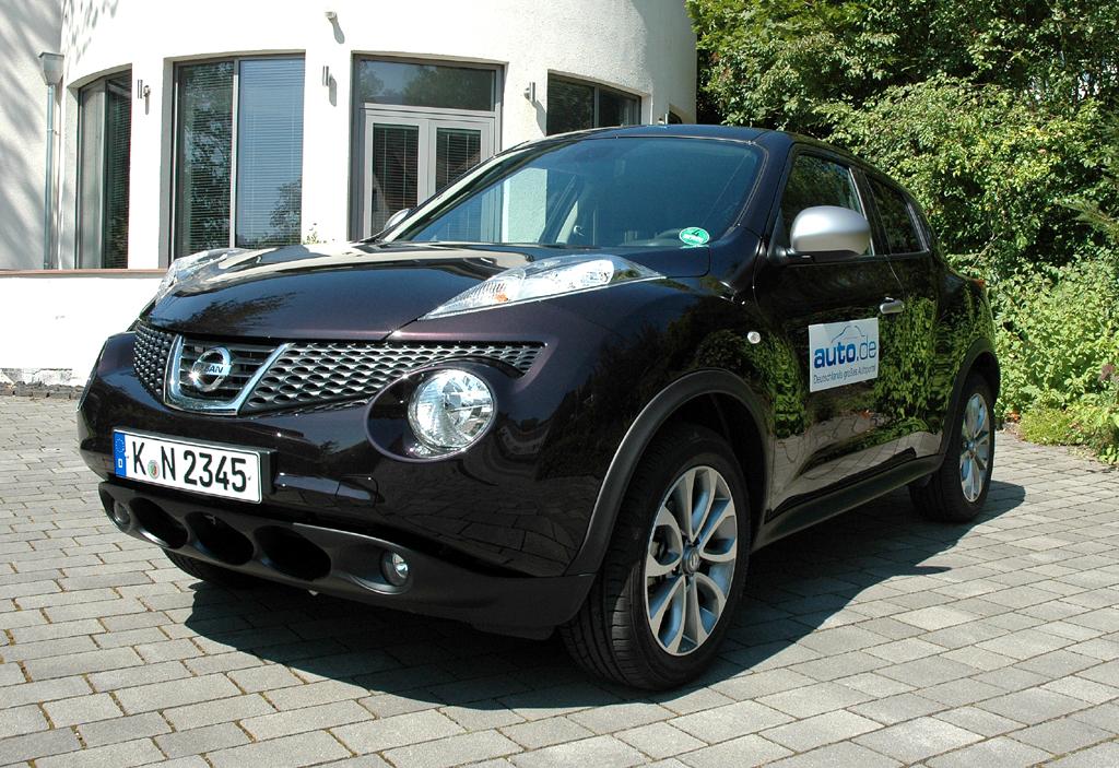 Nissan Juke, hier als Shiro-Diesel mit 81/110 kW/PS. Foto: Koch