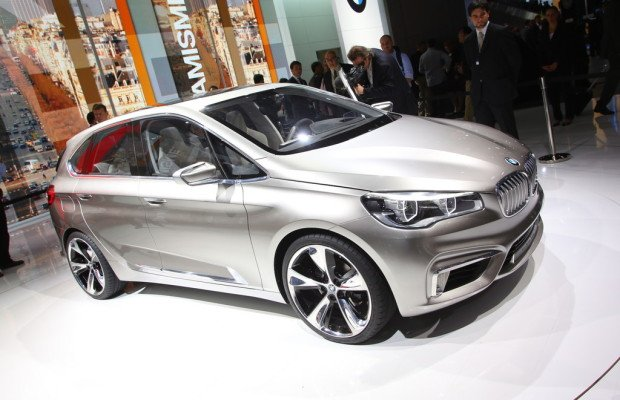 Paris 2012: BMW Concept Active Tourer