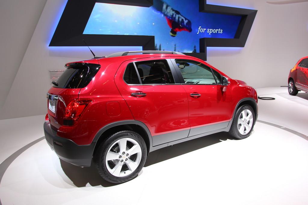 Paris 2012: Chevrolet Trax feiert Weltpremiere