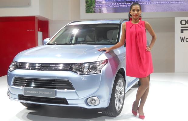 Paris 2012: Der Mitsubishi Outlander kann bald auch elektrisch