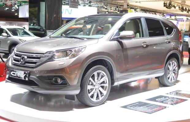 Paris 2012: Honda CR-V - Neue Generation mit gesunkenen Preisen