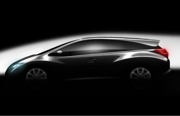 Paris 2012: Honda Civic - Der Kombi kommt zurück