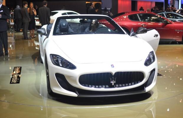 Paris 2012: Maserati Gran Cabrio MC - Powerpaket fürs dolce vita