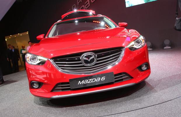 Paris 2012: Mazda6 Kombi kürzer als die Limousine