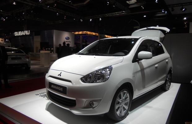 Paris 2012: Mitsubishi Mirage kommt Anfang 2013