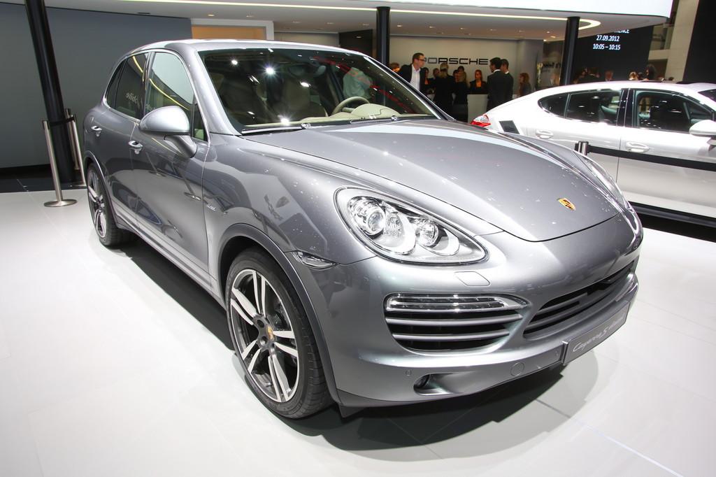 Paris 2012: Neuer V8-Diesel von Porsche