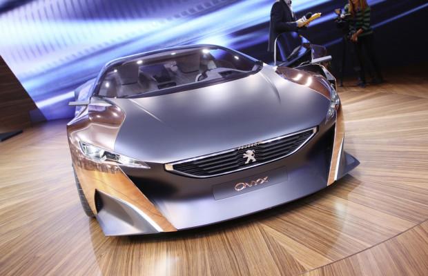 Paris 2012: Peugeot zeigt sich supersportlich