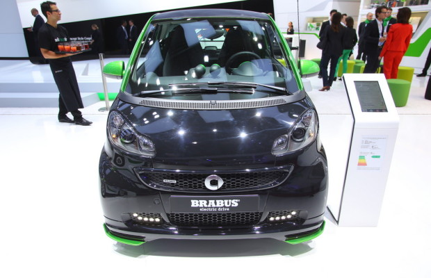 Paris 2012: Smart Brabus Electric Drive kann bestellt werden