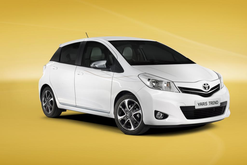 Paris 2012: Toyota Yaris Trend - Design-Chic für den Kleinwagen